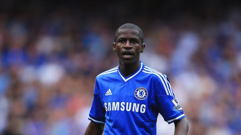 Ramires of Chelsea looks on during the Barclays Premier League match between Chelsea and Hull City at Stamford Bridge