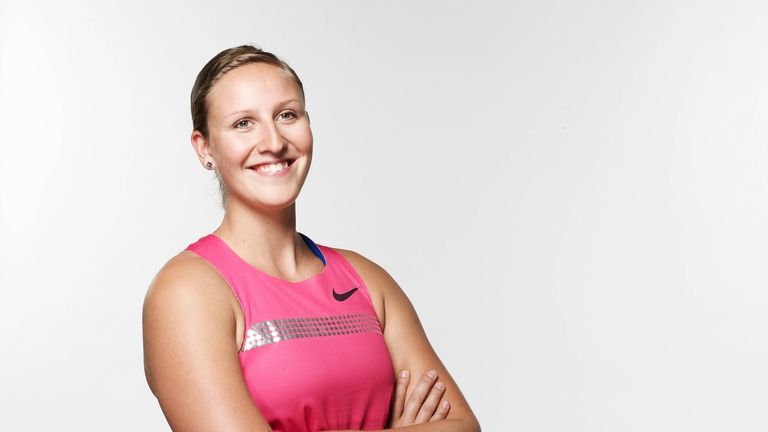 Holly also won bronze at the World Indoor Championships in 2012