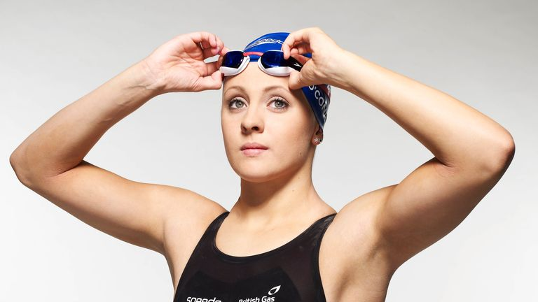 A bronze medal in the 100IM European short-course championships was Siobhan's first senior international medal