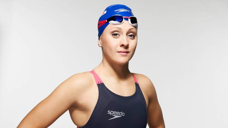 Siobhan is also a talented 100m breaststroker and competed in the London Olympics in this discipline