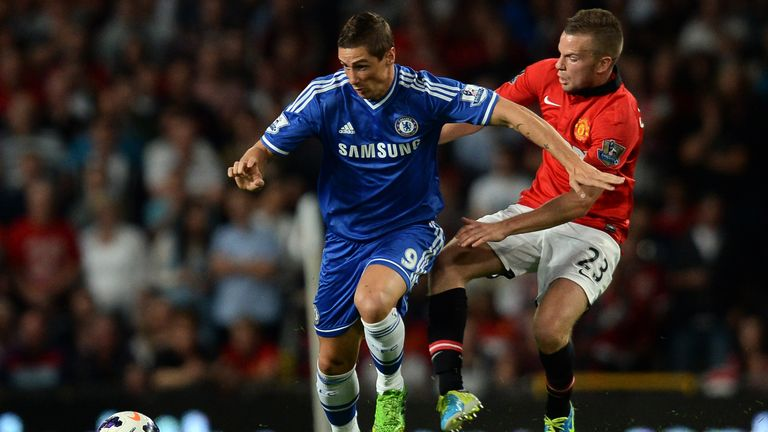Fernando Torres: came on as a second-half substitute at Old Trafford