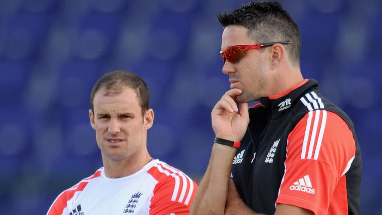 Andrew Strauss and Pietersen's relationship broke down during the 'Textgate' scandal of 2012