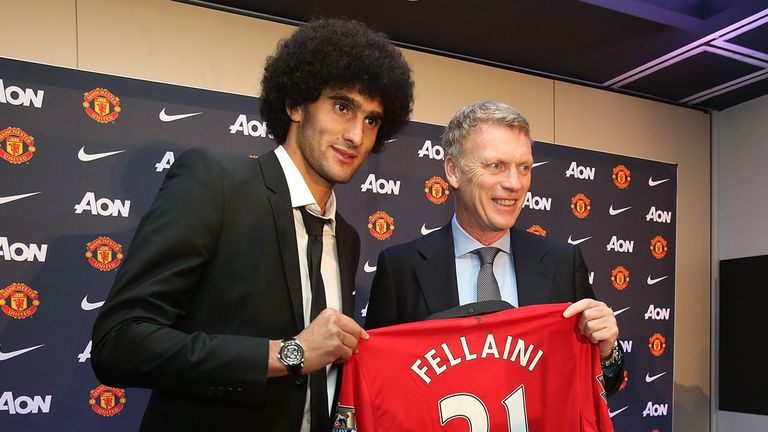 Marouane Fellaini: Manchester United sacked Mourinho too soon