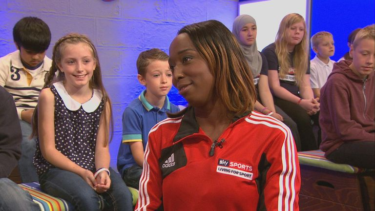 Kwayke will continue her work as a Sky Sports Living for Sport Mentor