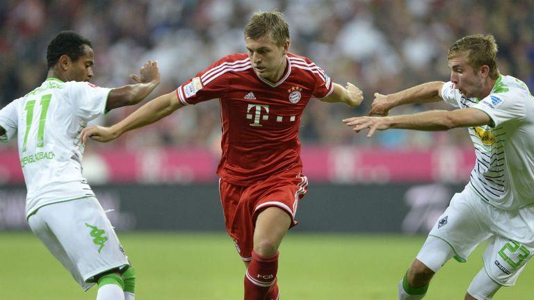 Toni Kroos: Seemed unhappy when hauled off against Stuttgart