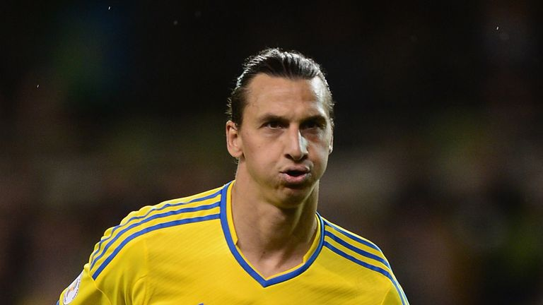 Zlatan Ibrahimovic: Quickfire goal for Sweden against Kazakhstan