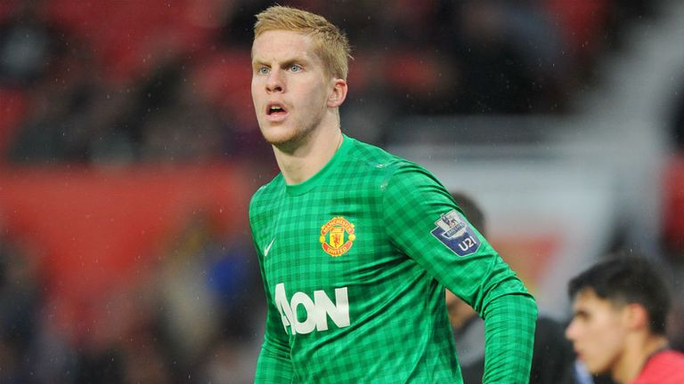 Ben Amos of Manchester United