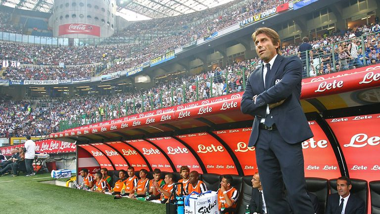 Conte won Serie A three times in a row during his three seasons at Juve