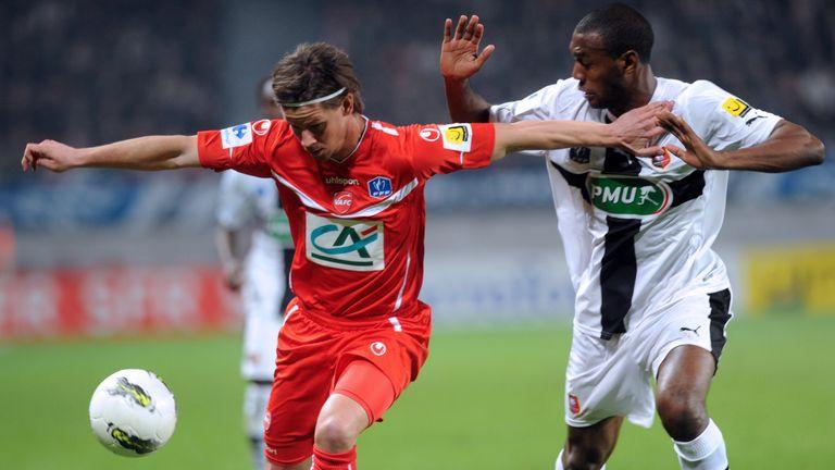 Dusan Djuric: Valenciennes midfielder has joined OB Odense on loan