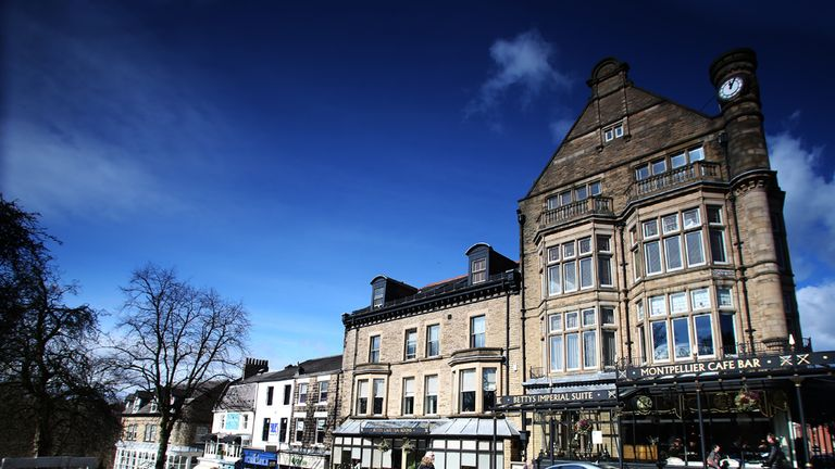 Harrogate will provide an idyllic setting for stage one's sprint finish