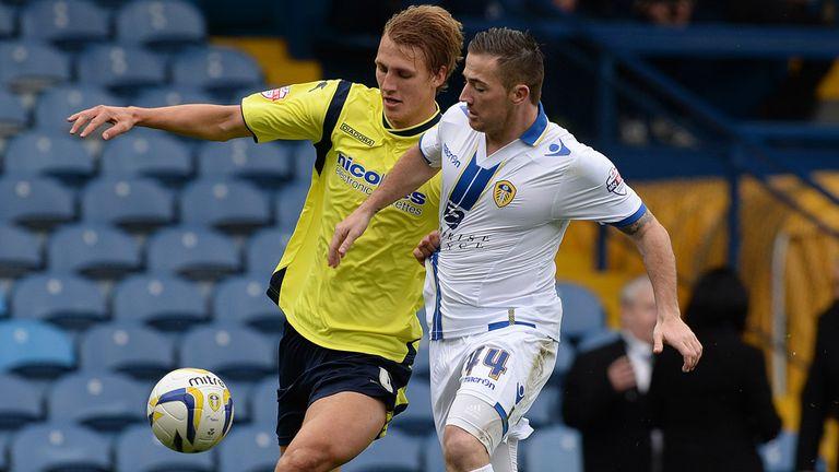 Dan Burn: Defender in action against Leeds United