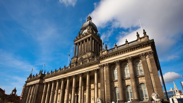 Stage one will start from outside Leeds Town Hall (Picture: www.yorkshire.com)