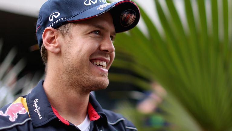 Sebastian Vettel: P1 yet again