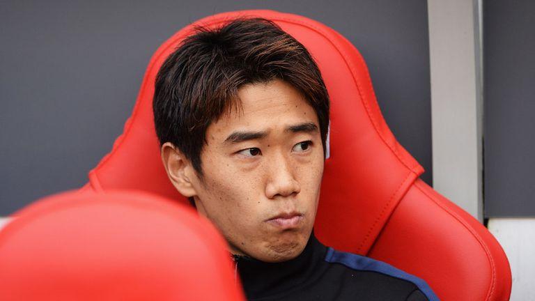 Shinji Kagawa: Manchester United midfielder moved to Old Trafford from Borussia Dortmund