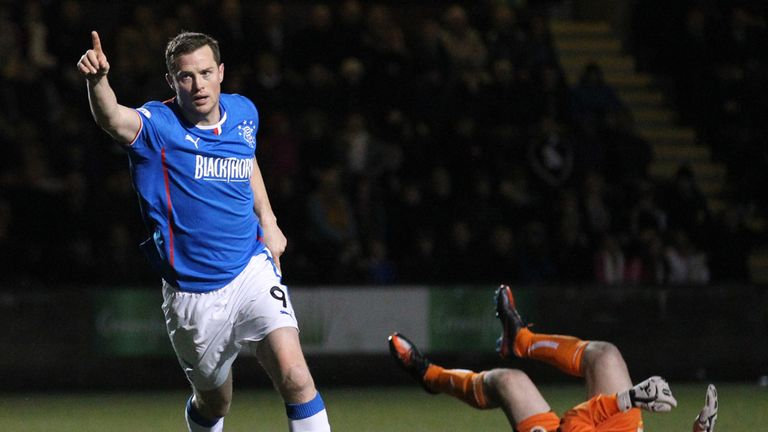 Jon Daly: Two goals for Rangers