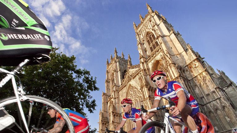 Stage two will start in York (Picture: www.yorkshire.com)