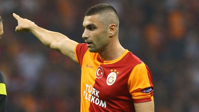 Burak Yilmaz: Turkey international boasts a prolific strike rate at Galatasaray