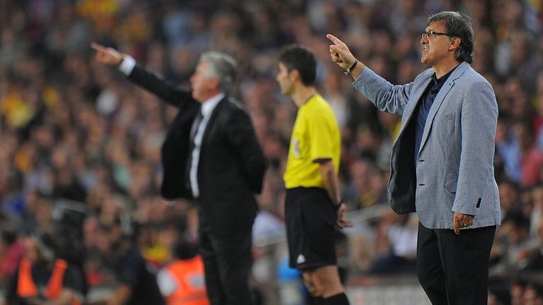 Tata Martino: Barcelona boss guided his side to victory over Real Madrid