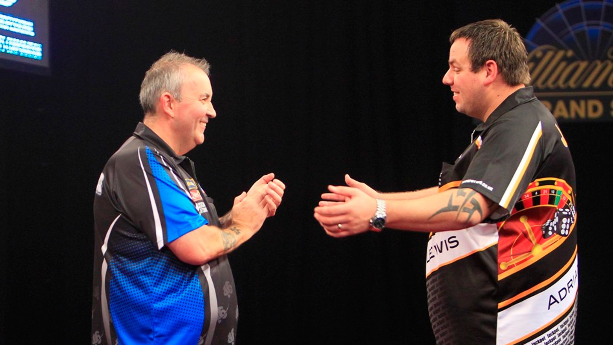 Adrian Lewis and Phil Taylor's Grand Slam of Darts 2013 clash may be the greatest match ever...