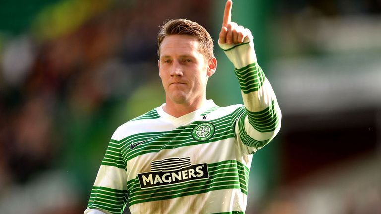 Kris Commons: On the mark for Celtic against Hearts