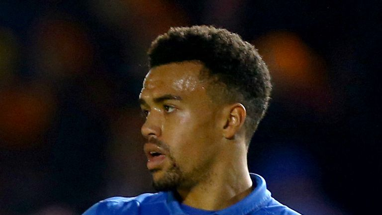 Nicky Ajose: On target for Swindon during first half