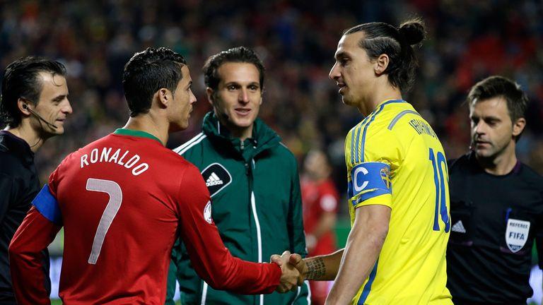 Ronaldo vs Zlatan Ibrahimovic: the 2014 World Cup play-off