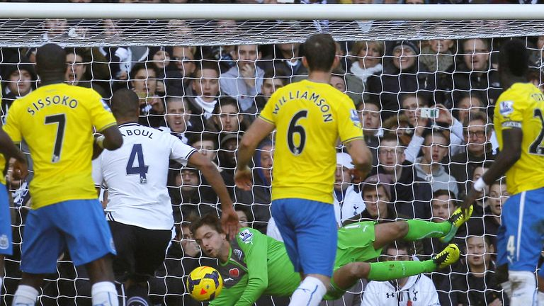 Tim Krul: Made a string of superb saves against Tottenham