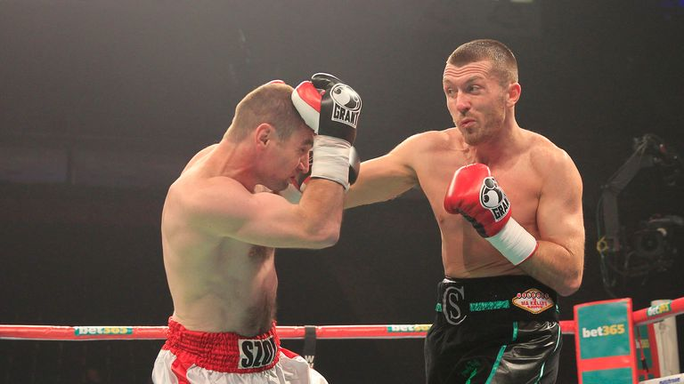 Scott Cardle: Yet to show the power he had as an amateur