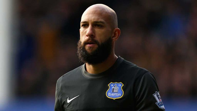 5a410e219cb Premier League  Tim Howard believes Everton need to be more ruthless ...