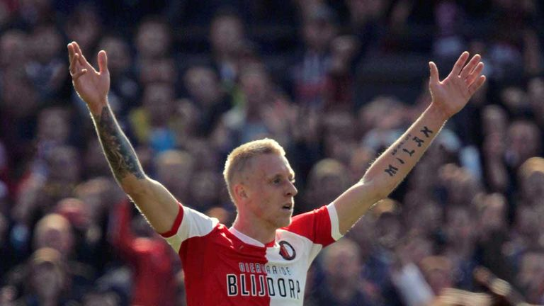 Lex Immers: On target for Feyenoord