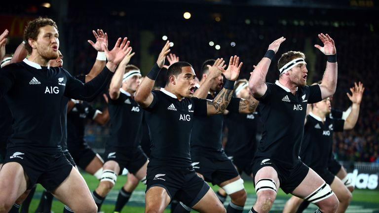 The All Blacks knew a bonus point or more guaranteed them the title