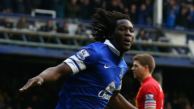 Romelu Lakaku set up a scintillating finish when he equalised for Everton