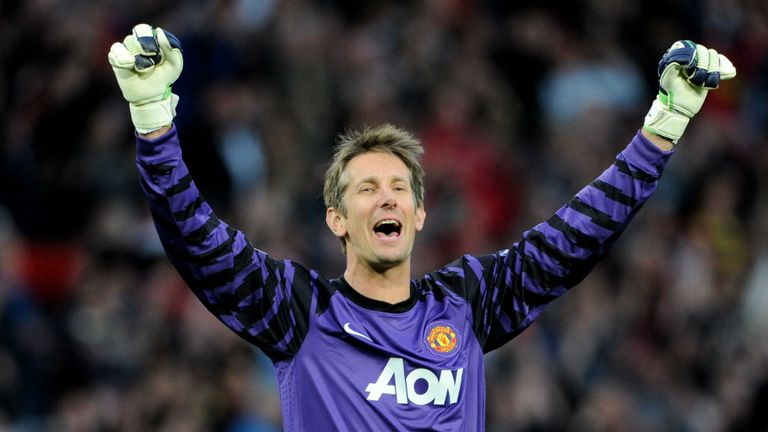 Edwin van der Sar was crucial to Manchester United's success between 2005 and 2011