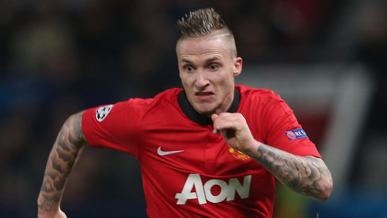 Alexander Buttner left United for Dynamo Moscow last year