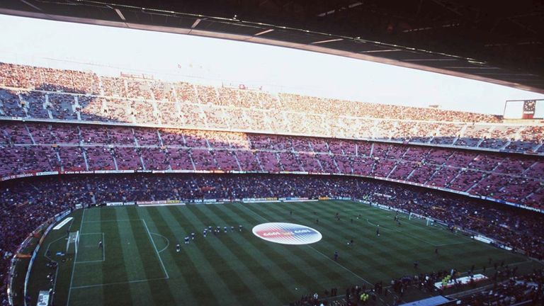 Barcelona hope to expand the Nou Camp to a capacity of 105,000