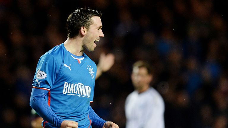 Nicky Clark: Scored four goals as Rangers thrashed Forfar