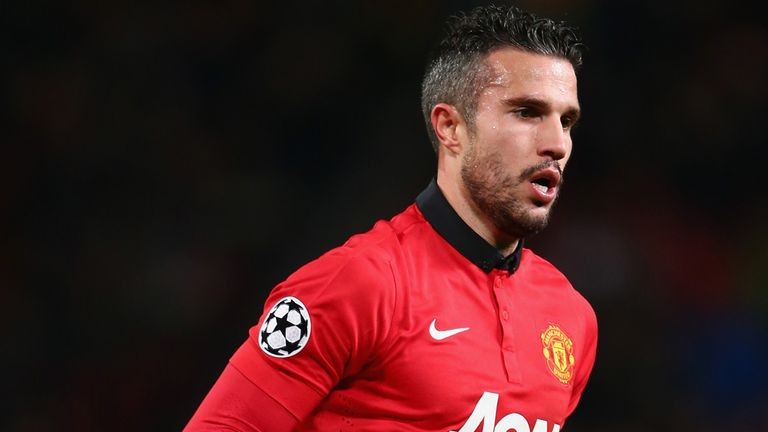 Robin van Persie: Out for a month