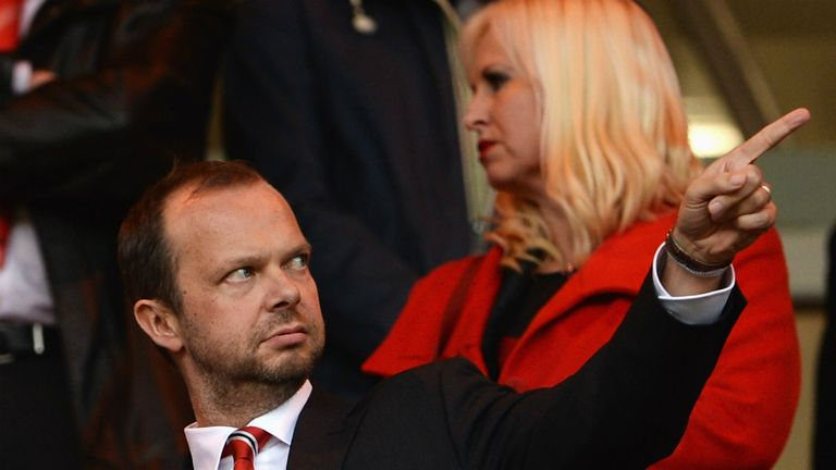 Ed Woodward: Pointing for a review of the English structure