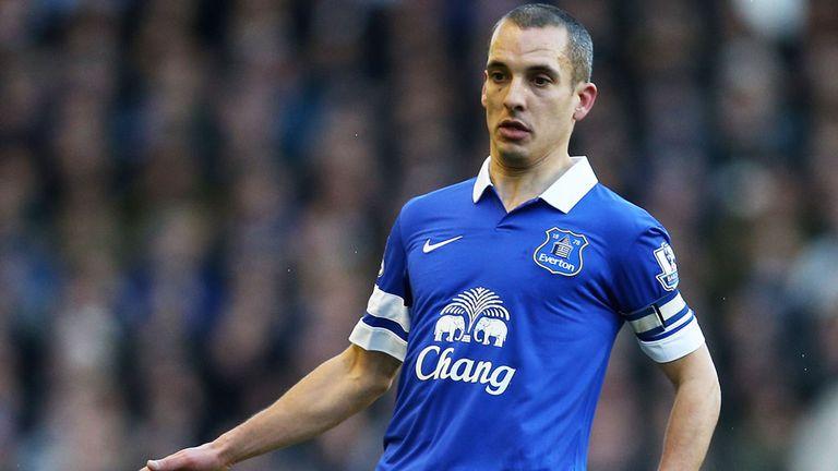 Leon Osman: Was named Everton captain against Southampton