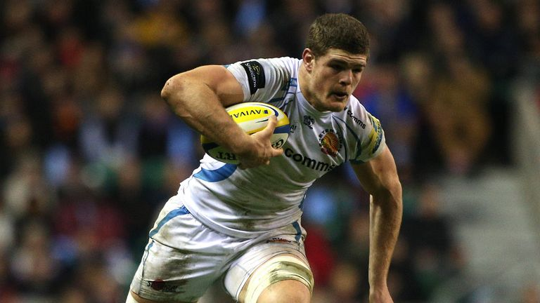 Dave Ewers has extended his stay at Sandy Park