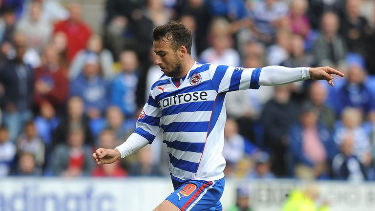 Adam Le Fondre: Reading striker gave the hosts an early lead