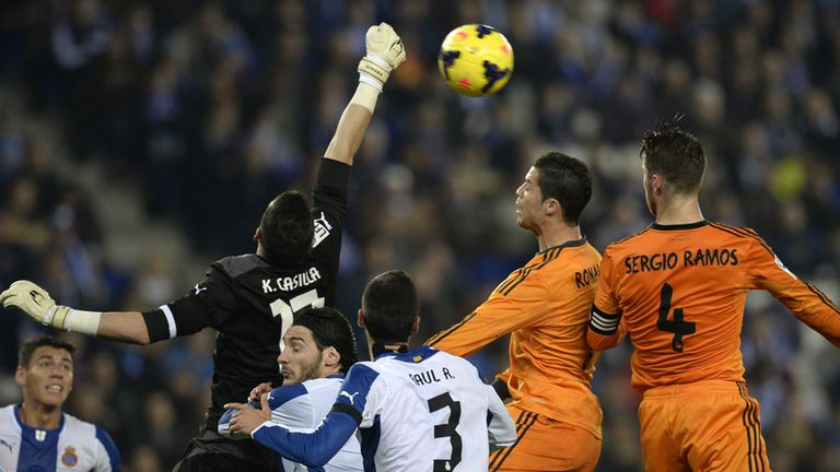 Player ratings from Real Madrid's loss against Espanyol