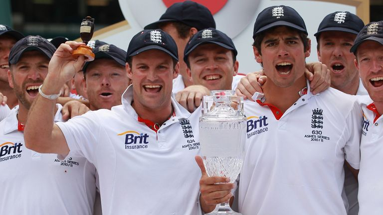 Andrew Strauss' best England moments