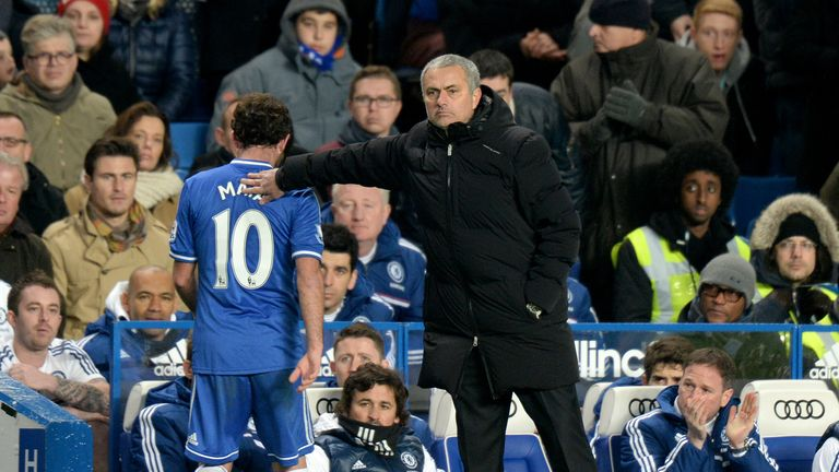 Juan Mata: Not happy under Jose Mourinho