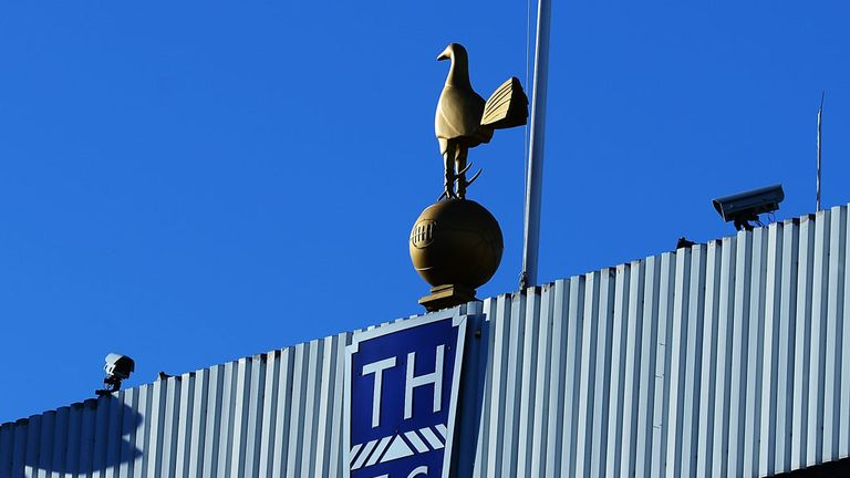 Fans have been warned about their conduct at White Hart Lane this season