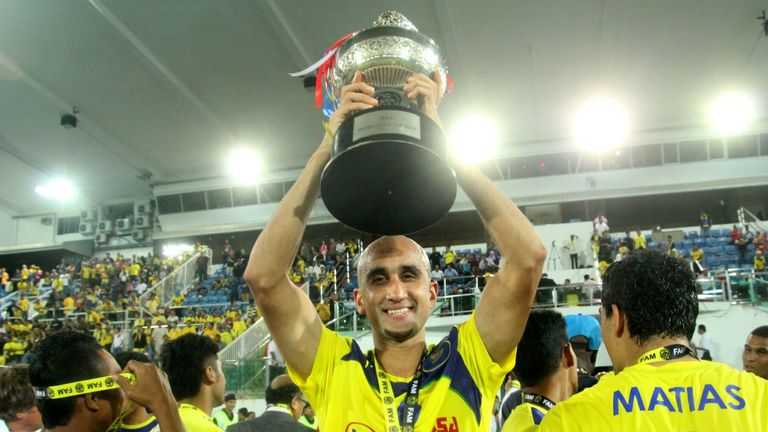 Zesh Rehman with Charity Shield on debut for Malaysian club Pahang