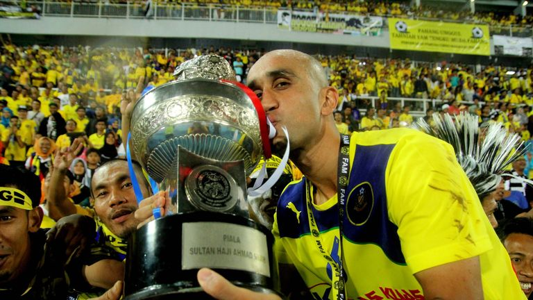 Rehman won three trophies with Malaysian club Pahang