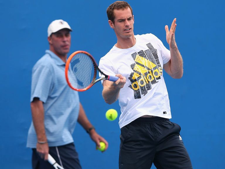 Andy Murray: Preparing to play in high temperatures