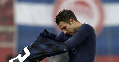 Robin van Persie: A frustrating night in Athens for Dutchman