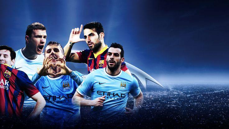 Champions League, Manchester City v Barcelona